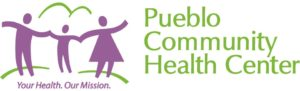 Pueblo Community Health Center Purple & Green Logo