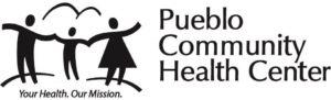 Pueblo Community Health Center Black and White Logo