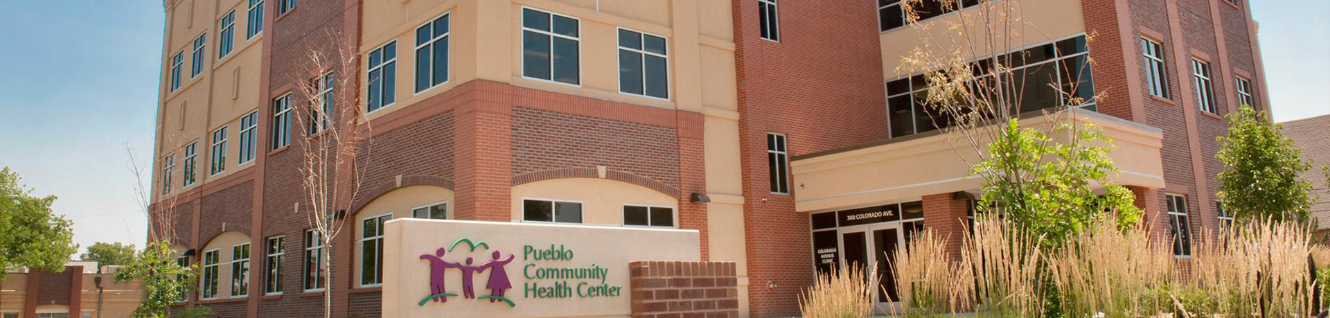 Pueblo Community Health Center Outside of Main Building