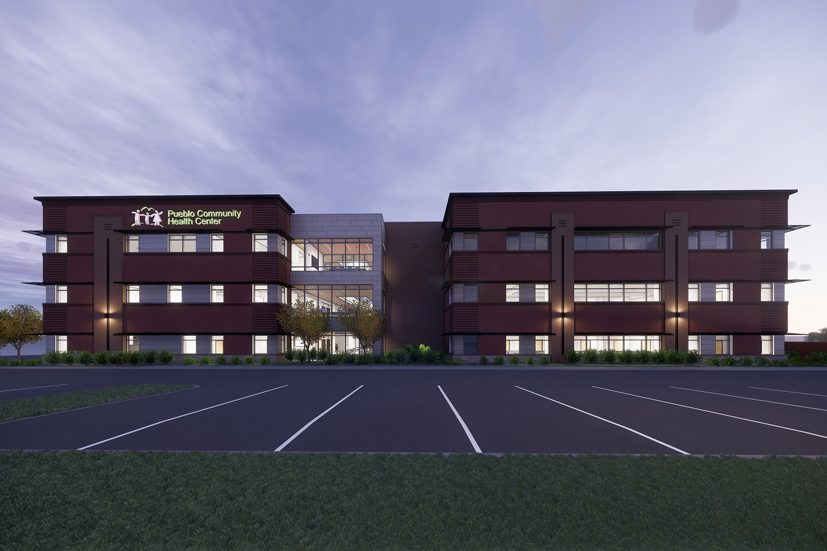 PCHC East side expansion rendering - north