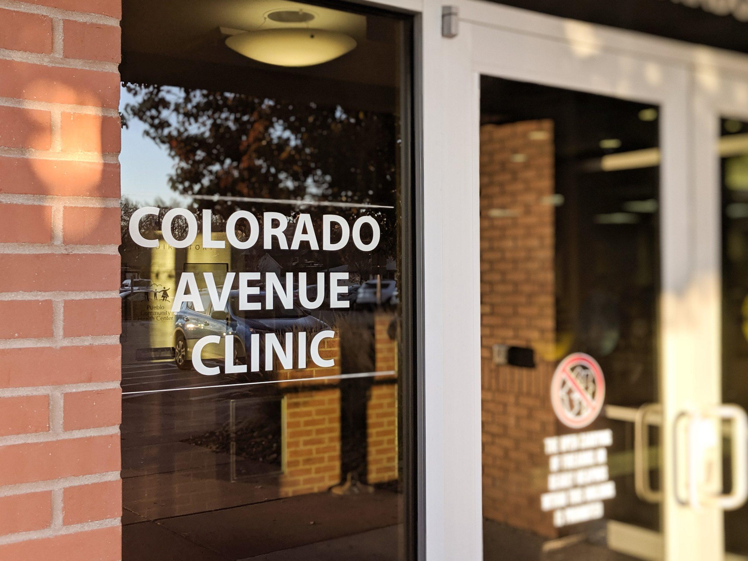 Colorado Building front door